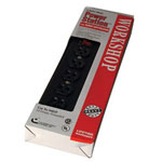 Coleman Cable 04618 6-outlet Power Strip 14/3 Sjt w/6' Cord & Rese