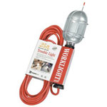 Coleman Cable 25' Orange Trouble Light/metal Guard 16/3sjt 13a