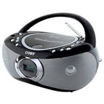 Coby MP CD455 - Boombox - Radio / CD / MP3