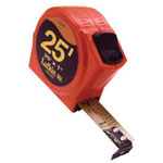 "Cooper Hand Tools 1/2"" x 13' Hi-viz Orange Power Measuring T"