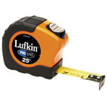 "Cooper Hand Tools 1"" x 25' Pro Series Engineers Tape Measure"