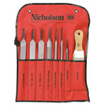 Cooper Hand Tools 8 Piece Machinist File Set