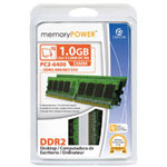 Centon MemoryPOWER Memory - 1 GB : 2 X 512 MB - DIMM 240-pin - DDR2