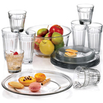 Anchor Hocking 18 pc. Olivia Dinnerware and Beverageware Combo Set