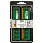 Kingston ValueRAM Memory - 2 GB : 2 X 1 GB - DIMM 240-pin - DDR3