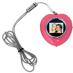CTA Heart Shape Necklace MI-HPNP - Digital Photo Frame