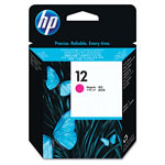 HP 12 Magenta Ink Cartridge ,Model C5025A ,Page Yield 105000