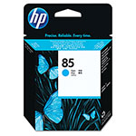 HP 85 Cyan Inkjet Cartridge, Model C9420A