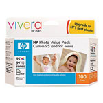 HP Custom 95/99 Series 100-Sheet Photo Value Pack - Print Cartridge / Paper Kit