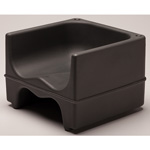 Cambro Dual Height Booster Seat, Black 4 Pack