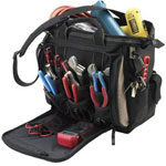 "CLC Custom Leather Craft 13"" Multi-compartment Tool Carrier"