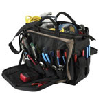 "CLC Custom Leather Craft 18"" Multi-compartment Tool Carrier"