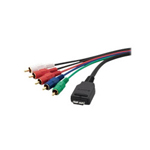 Sony VMC MHC2 - video / audio cable - component video / audio - 5 ft