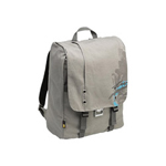 "Caselogic SNBP-17 GRAY 17"" Canvas Backpack - Notebook Carrying Backpack"