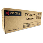 Kyocera TK 827Y - Toner Cartridge