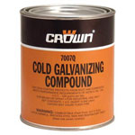 Crown 707q 1 Qt Cold Galv Compound