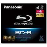 Panasonic LM BR50LDE - BD-R DL X 1 - 50 GB - Storage Media
