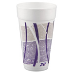 Dart Container 20J16 Impulse Design 20 Ounce Foam Cups