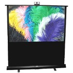 "Draper Piper NTSC Video Format - Projection Screen - 72"" - 4:3 - Fiberglass Matt White"