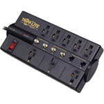 Tripp Lite Protect It! TLP810SAT - Surge Suppressor (External) - AC 120 V - 8 Output Connector(s)
