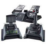 Logitech Flight System G940 - joystick, pedals, throttle