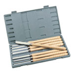 Delta Machinery 8 Piece Wood Lathe Turningtool Set