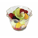 Cambro Swirl Plastic Serving Bowl, 5 OZ, Clear