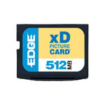 Edge Digital Media Flash Memory Card - 512 MB - XD