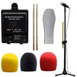 CTA 8-in-1 Starter Kit For Rockband - Game Console Accessory Kit