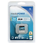 Centon MediaPOWER Flash Memory Card - 2 GB - SD