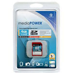 Centon MediaPOWER High Speed - Flash Memory Card - 4 GB - SDHC