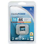 Centon MediaPOWER Flash Memory Card - 4 GB - SDHC