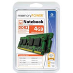 Centon MemoryPOWER Memory - 4 GB : 2 X 2 GB - SO DIMM 200-pin - DDR2