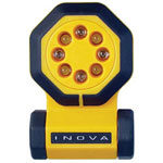 Inova 24/7, 7 Function LED Flashlight System, with Accessory Pack, Yellow