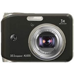 GE A1035 Digital Camera, Red