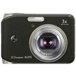 GE A1235 Digital Camera, Red