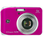 GE A1250 Digital Camera, Pink