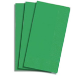 "Creative Converting Converting 24158 16"" x 16"" Hunter Green 2 Ply Dinner Napkins"