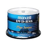 Maxell DVD-RSS Plus - DVD-R X 50 - 4.7 GB - Storage Media