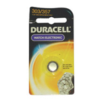 Duracell D303/357PK 1.5 Volt Silver Oxide Watch Battery
