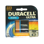 Duracell DL223ABPK 6.0 Volt Lithium Photo/elictronic Battery
