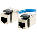 Cables To Go Cat5e Toolless Keystone Jack - Fully Shielded - Modular Insert