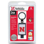 Centon DataStick Keychain Collegiate University Of Nebraska Edition - USB Flash Drive - 2 GB