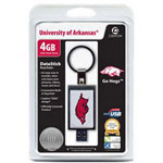 Centon DataStick Keychain Collegiate University Of Arkansas - Fayeteville Edition - USB Flash Drive - 4 GB