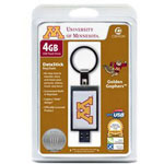 Centon DataStick Keychain Collegiate University Of Minnesota Edition - USB Flash Drive - 4 GB