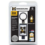 Centon DataStick Keychain Collegiate University Of Missouri Edition - USB Flash Drive - 2 GB