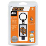 Centon DataStick Keychain Collegiate Oklahoma State University Edition - USB Flash Drive - 4 GB