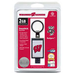 Centon DataStick Keychain Collegiate University Of Wisconsin - Madison Edition - USB Flash Drive - 2 GB