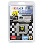 Centon NASCAR Jimmie Johnson - Flash Memory Card - 16 GB - SDHC