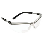 AO Safety Bx Reader Silver/black Frame Clear Lens 1.5 Diop